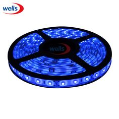 24V Car 5M Flexible Water house proof 3528 SMD 300 LED Strip Light 500cm Blue #Affiliate