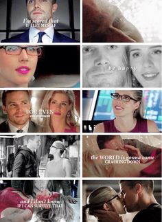 Arrow - Felicity and Oliver #Season3 #Olicity <3