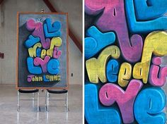 An unknown artist has crept around a university and created these chalk drawings without anyone knowing. Crafty!