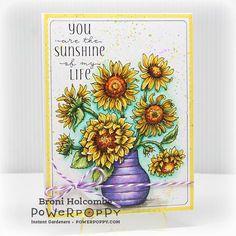 Sunshine of My Life Digital Stamp Set | Power Poppy by Marcella Hawley