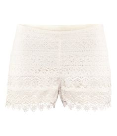 Perfect lace shorts for Summer...It's waiting in my closet - H