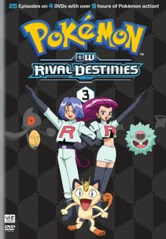 Pokemon Black and White: Rival Destinies DVD Set 3 (D)