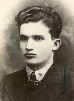 Nicolae Ceausescu young