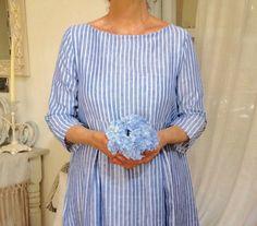 abito in lino - linen dress