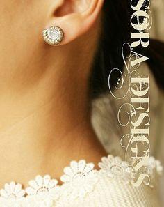 Great earrings for a Kappa Delta :)