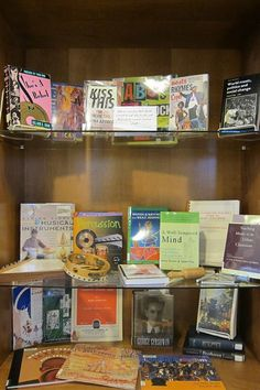 """Music expresses that which cannot be put into words and that which cannot remain silent."" – Victor Hugo.  Check out the Library's latest display!"