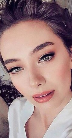 Neslihan Atagül's wedding makeup  #makeup