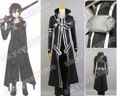 Kazuto Kirigaya Cosplay Costume from Sword Art Online - Sword Art Online Cosplay Costume