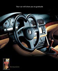 Fuchs Super Gt Car Oil Ad Agency: Impact BBDO Jeddah, Saudi Arabia Illustrator: Ferdinand Magsino Account Supervisor: Joy Abraham Released: February 2004