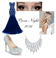 """Prom 2k16"" by desiraeg on Polyvore featuring Lauren Lorraine, Bling Jewelry and Heist"