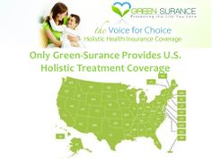 Only Green-Surance provides Holistic Health Insurance coverage for all of the US! Don't miss you chance to enroll in this amazing coverage! be sure to check out mygreensurance.com