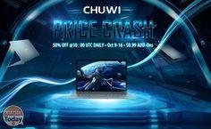 [Codice Sconto] 50% di sconto sui tablet CHUWI alle ore 12.00 dal 09 al 16 Ottobre! #Xiaomi #Chuwi #CodiceSconto50Off #Coupon #MetàPrezzo https://www.xiaomitoday.it/?p=27020