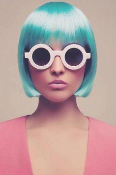 Painel de inspiração rosa e azul + Moda | Andrea Velame Blog