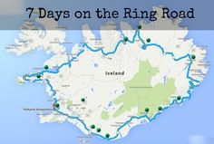 Iceland Adventures - How To Travel The Ring Road In 7 Days Life With a View Popular Honeymoon Destinations, Honeymoon On A Budget, Honeymoon Fund, Travel Destinations, Affordable Honeymoon, Honeymoon Ideas, Iceland Road Trip, Iceland Travel, Camping Iceland