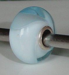 ICE-BLUE-ARMADILLO-TROLLBEADS-UNIQUE-OOAK-CC-CHARM-BEAD