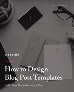 Creating templates for Your Blog Posts