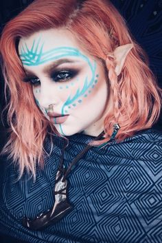 Image result for fantasy facial markings