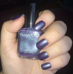 Hey, I found this really awesome Etsy listing at https://www.etsy.com/listing/267648858/purple-and-green-chameleon-polish-color