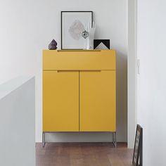 mell - cabinet series by Interlübke Home Decor Furniture, Wood Furniture, Modern Furniture, Furniture Design, Industrial Wall Shelves, Cabinet Manufacturers, Modern Kitchen Interiors, Storage Design, Bathroom Interior