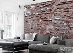 ConcreteWall Attic 02 Wallcovering
