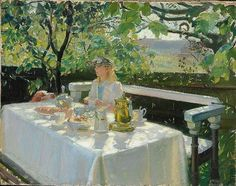 Lunchtime ~ Anna Ancher ~ (Danish: 1859-1935)