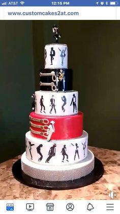 Moms 50th Birthday, 40th Birthday Cakes, 9th Birthday Parties, Birthday Ideas, Michael Jackson Songs List, Michael Jackson Party, Michael Jackson Merchandise, Paris Jackson, Jackson Family