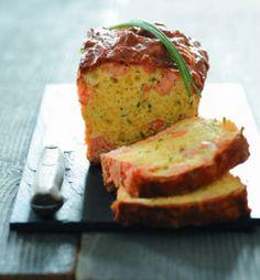 Cake saumon ciboulette