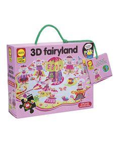 Fairy Land 3-D Puzzle by ALEX #zulily #zulilyfinds