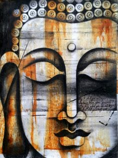 Rare Thoughts Art Gallery Lord Buddha Painting