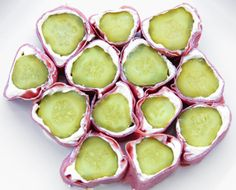 "Favorite treat since childhood :) Used to call them Pickle Roll-Ups, now called ""Redneck Sushi."""
