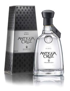 Before & After: Antigua Cruz Tequila - The Dieline - Mezcal Tequila, Tequila Bottles, Alcohol Bottles, Liquor Bottles, Drink Bottles, Vodka Bottle, Bottle Packaging, Brand Packaging, Packaging Design