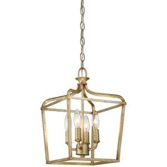 "10"" w - may be too small Laurel Estate Brio Gold Four Light 15 Inch Pendant Minka Lavery Lantern Pendant Lighting C"