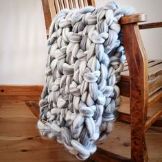 Always keep a blanket close in Ireland! This colour is such a delicious mix of cream and grey.