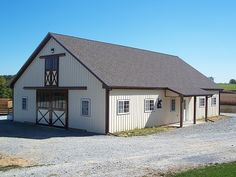 Best Colors Traditional Barn Red Dark Grey Roof Lake 640 x 480