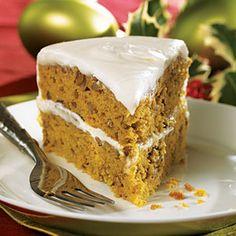 Pumpkin-Pecan Layer Cake
