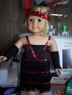 Tap outfit for american girl doll by ritassewing on Etsy, $18.95