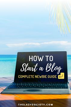Check out our complete newbie guide for starting a blog in 6 easy steps. Click through to see.  #blogger #blogging #newbieblogger #blog #startablog #bloggers How To Start A Blog, How To Get, Get Started, Affiliate Marketing, Need To Know, Travel Tips, Life Hacks, Travel Advice, Lifehacks