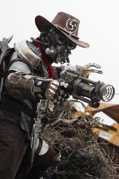 A chance to access your inner steampunk hunter or huntress? (Dieselpunk Bounty Hunter 9 by Zilochius.deviantart.com)