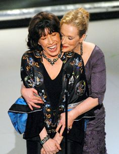 Lily Tomlin and Meryl Streep, The 78th Annual Academy Awards, March 5, 2006  http://greginhollywood.com/lunch-break-video-meryl-streep-and-lily-tomlin-team-up-in-a-prairie-home-companion-15650