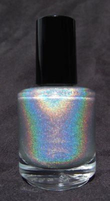Mentality Nail Polish: The Top Coat Collection- Holo (holographic top coat). $6.00, via Etsy.