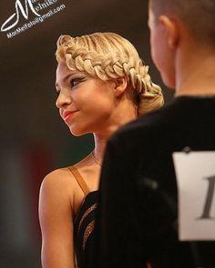 Hair by Kristina Shinkariuk for beauty @anyabogatishcheva #hairdresses #hairstyle #hair #kristinashinkariuk #dancesport #dancehair #imagemaximum #ballroom #dancecompetition #beauty #muah #make-up #hairstylist #wdsf #прическа #прическадлятанцев