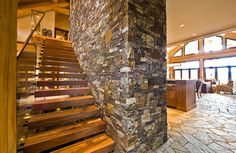 Log Home Kitchen Design Ideas, Pictures, Remodel, and Decor - page 2