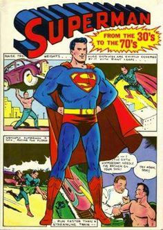 Superman history 30-70s