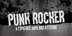 Punk Rocker was designed by Emil Bertell and published by Fenotype. Punk Rocker contains 3 styles and family package options. Vintage Fonts, Vintage Typography, Graphics Vintage, Vector Graphics, Photoshop Software, Photoshop Design, Free Cursive Fonts, Font Free, Free Graphic Design Software