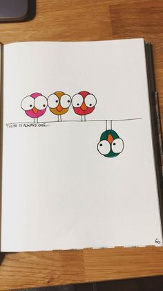 Nice page inspiration for your bullet journal- Nette Seiteninspiration Für Ihr Bullet-Journal Nice page inspiration for your bullet journal drawing ideas for kids – Drawing Ideas - Doodle Drawings, Cute Drawings, Drawing Sketches, Watercolor Cards, Art For Kids, Birthday Cards, Creations, Card Making, Crafts