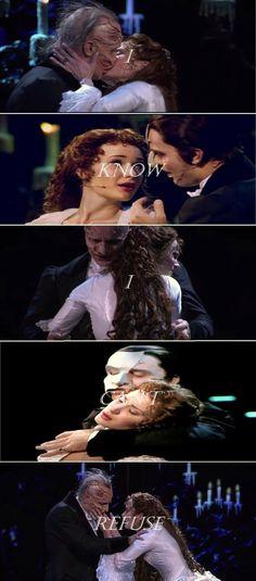 Sierra Boggess (Christine) and Ramin Karimloo The Phantom of the Opera 25th anniversary