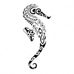 13 Fantastiche Immagini Su Tatuaggi Di Cavalluccio Marino Drawings