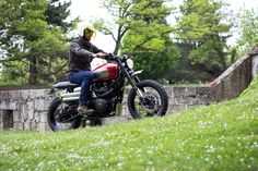 The ultimate Triumph Scrambler built by BAAK is currently featured on Bike Exif.