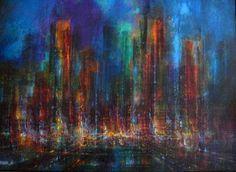 """LEONARDO NIERMAN """"City Lights""""1966"""