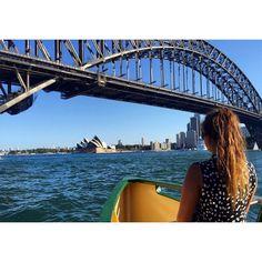 Day 74 | 184. Sunny Sydney Harbour Bridge Opera House and ginger hair #Sydney #operahouse #sydneyharbourbridge #rivercruise #newsouthwales #Australia #ausfeels #travelling #instatravel #potd by hollybarnett18 http://ift.tt/1NRMbNv
